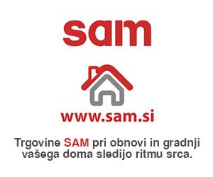 Trgovine Sam sledijo Ritmu Srca pri gradnji in obnovi vašega doma.